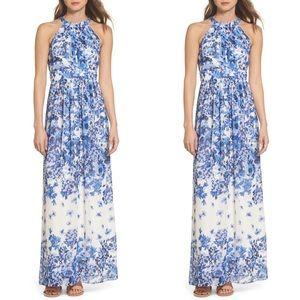 NWT halter maxi dress